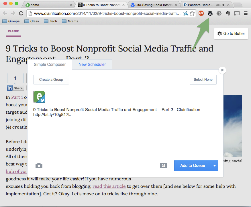 9_Tricks_to_Boost_Nonprofit_Social_Media_Traffic_and_Engagement_–_Part_2_-_Clairification_and_Buffer