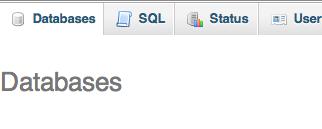 phpmyadmin-databases