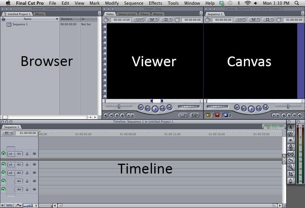 layout of final cut 7